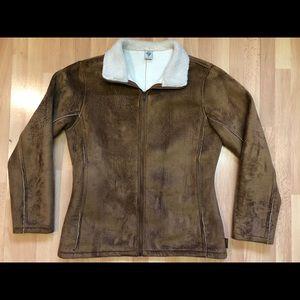 Prana Faux Suede Winter Jacket